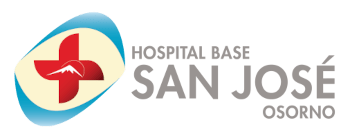 Hospital Base San José Osorno - Logo