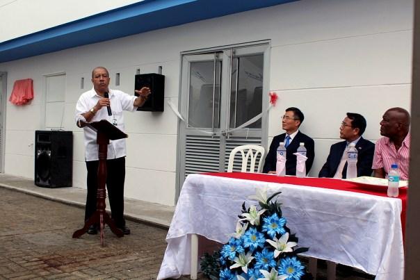 Inauguración edificio con apoyo de agencia KOICA