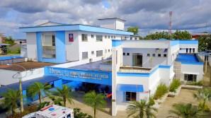 Fotografía aérea Sede Principal Los Rosales