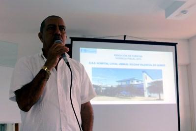Dr. Wilman Yurgaky, Gerente Hospital Ismael Roldan