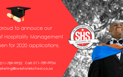 Study a Bachelor of Hospitality Management Degree at The Swiss Hotel School South Africa