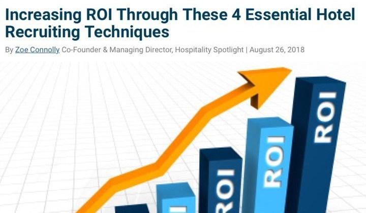 increasing roi article