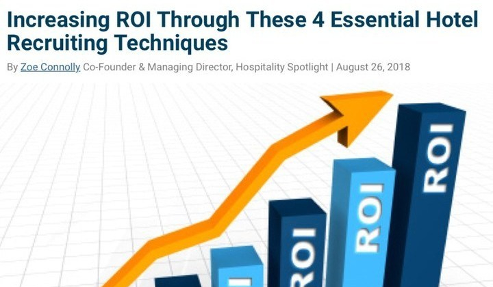 increasing roi article