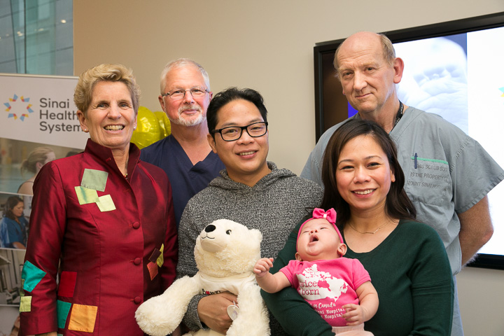 First in-utero surgery in Canada for the treatment of spina