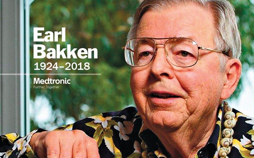 Celebrating Earl Bakken  Legendary Medtronic co-founder