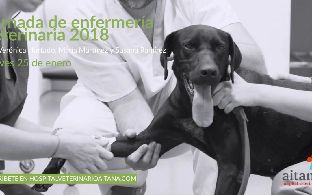 Jornada enfermería veterinaria 2018