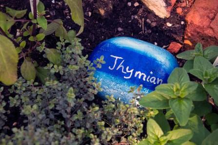 One of Tina's self made name stones.