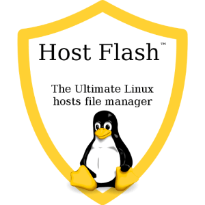 Host Flash™ Logo with Slogan - 512x512