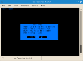 A copy of the original unedited hosts file is created the first time Host Flash is run; this ensures the pre Host Flash edited file can be restored at any time. Host Flash also creates a zipped backup of every hosts file it replaces whenever Host Flash runs.