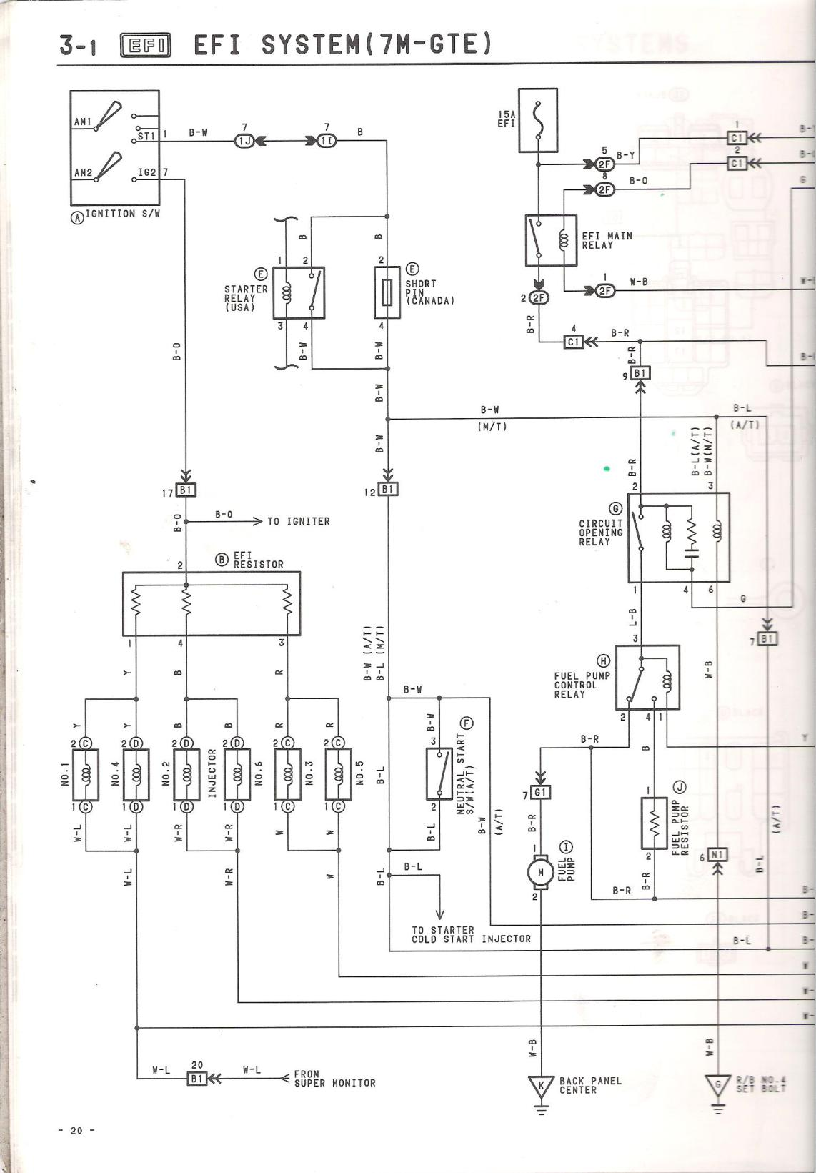 Engine Wiring Diagram For An 88 Mkiii Does This Exist