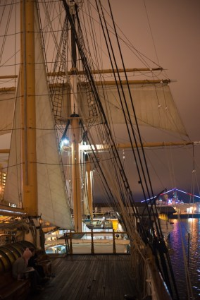 Nightwatch - Sails and rigging - Star of India 2015