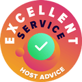 Jetserver - Excellent Service Award from HostAdvice