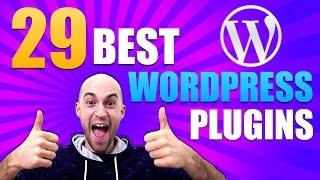 Best WordPress Plugins – Top 29 WordPress Plugins For Every Website – Best Plugins 2016