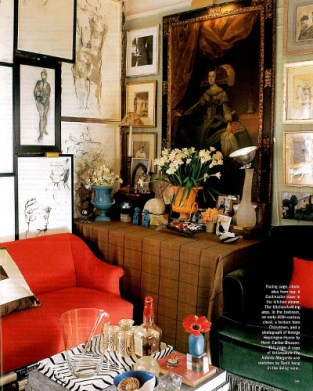 Miles Redd of course (from Elle Decor)