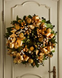 Glamorous Fall Wreath from Horchow