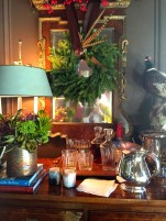 A tableau from Danielle Rollins & Bill Ingram's study at the Home for the Holidays House in Atlanta.