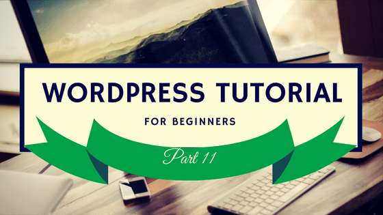 WordPress Tutorial 11 Logo