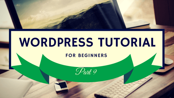 WordPress Tutorial 9 Logo