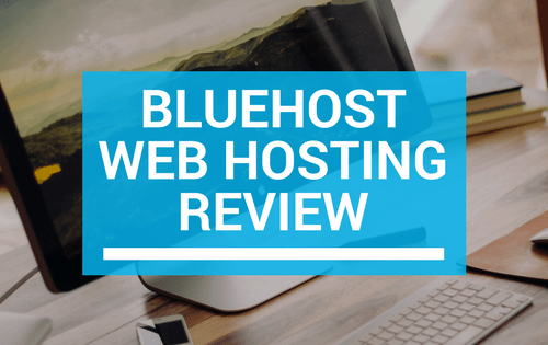 Bluehost review logo