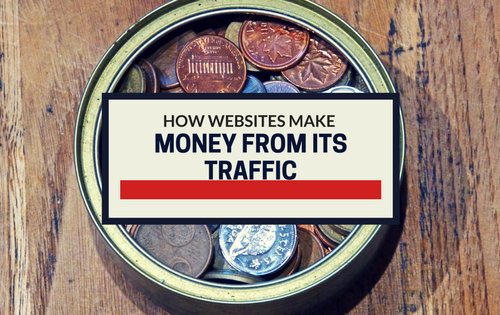 How Websites make money from its traffic