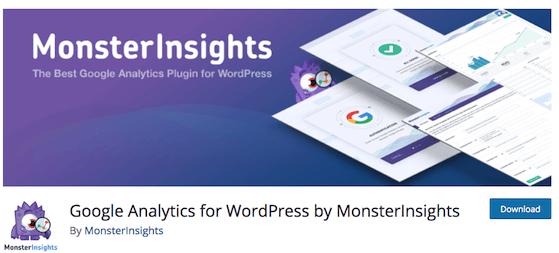 Monsterinsights Best Google Analytics Plugins