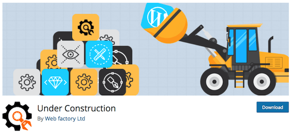 Under Construction Plugins Logo