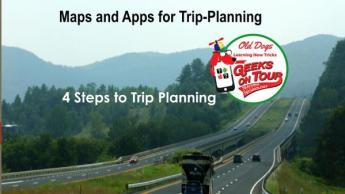 Maps and Apps for RV Trip-Planning