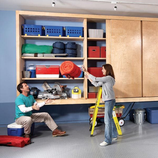 large garage storage cabinet plans