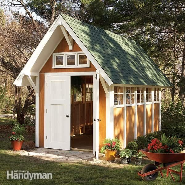 Family Handyman Shed Design