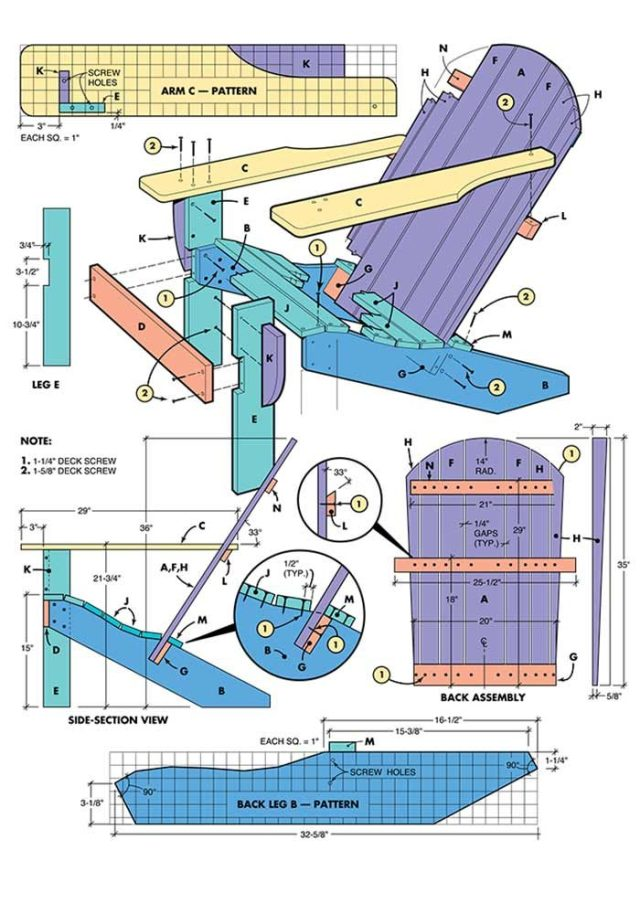 Nenny: Adirondack chair plans free printable Learn how