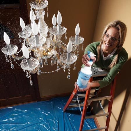 Clean Crystal Chandelier Cleaning Spray