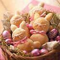 Bunny-Shaped Recipes for Easter