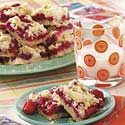 Raspberry Patch Crumb Bars
