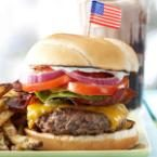 All-American Bacon Cheeseburgers Photo