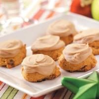 Frosted Pumpkin Cookies Photo