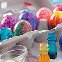 Coloring Easter Eggs