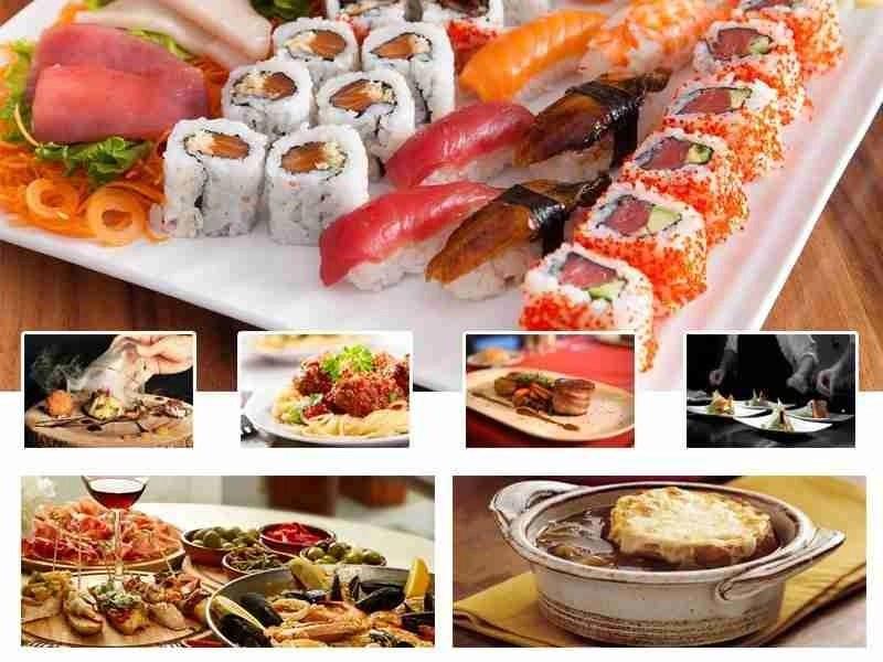 Diseno de páginas web para restaurantes. Galería de fotos. Hostelería Ecuador