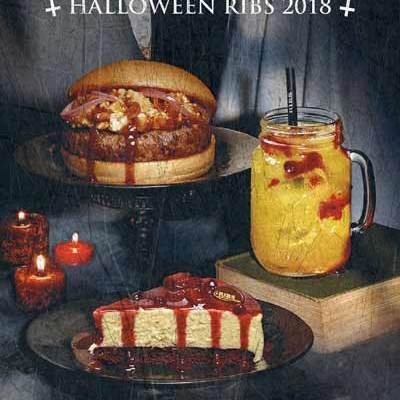 "RIBS CELEBRA ""PARANORMAL RIBS"",  SU BIG PARTY DE HALLOWEEN"
