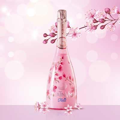 Nace el delicado Platinvm Sakura: flores de cerezo en tu paladar