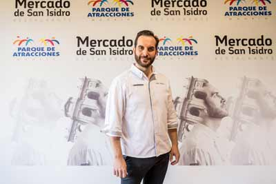 Mario Sandoval acerca la alta cocina a las familias en el  Parque de Atracciones de Madrid