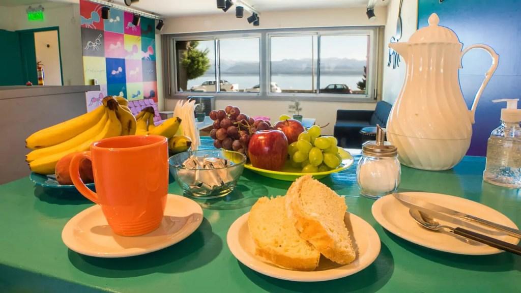 Desayunos en el Hostel Hormiga Negra - Bariloche