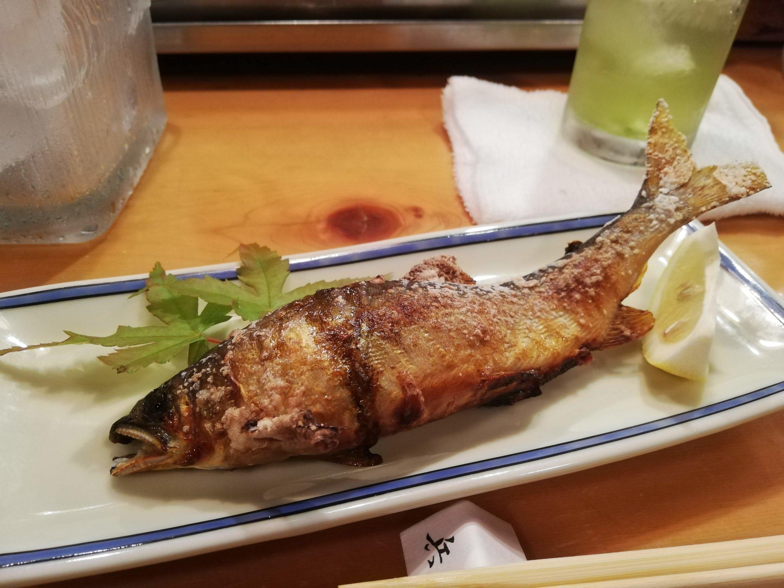 季節の焼き川魚⎢Grilled river fish (seasonal)
