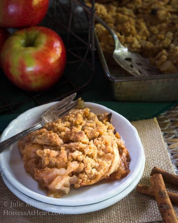 Quick And Easy Apple Crisp Recipe