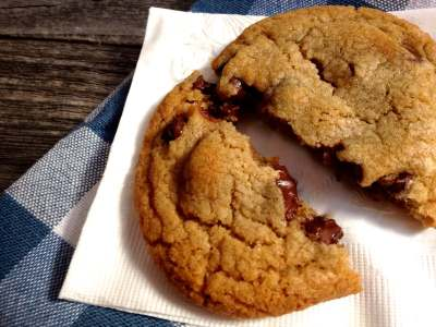 My Favorite Chocolate Chip cookie has stood up to a lot of competition. They are big, soft in the center, and have a delicate crunch on the edges. | HostessAtHeart.com