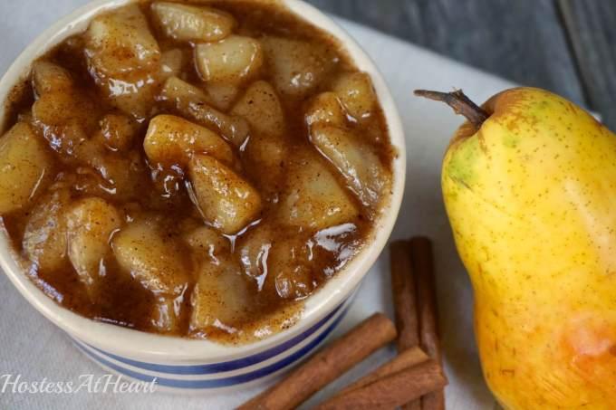 Caramilized Pear Pie Filling3 - HostessAtHeart