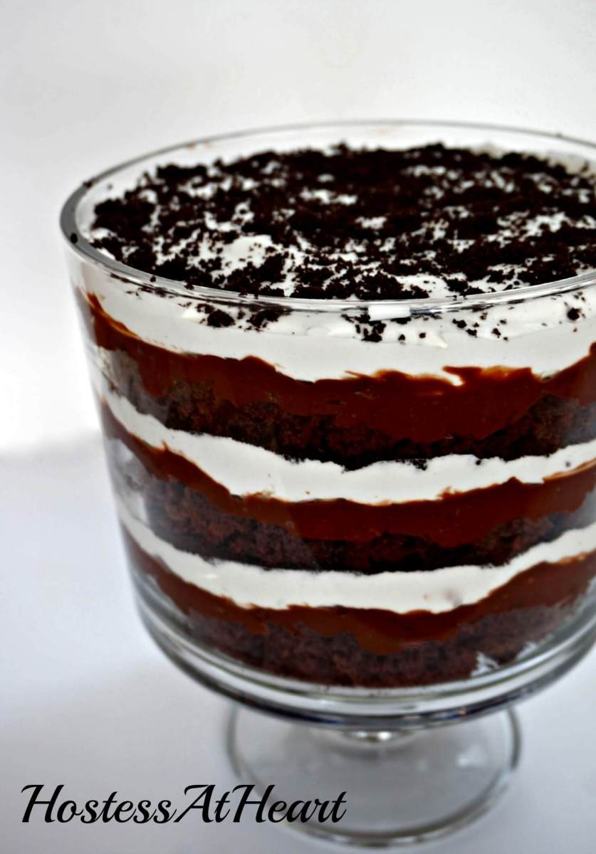 Chocolate Pudding Trifle