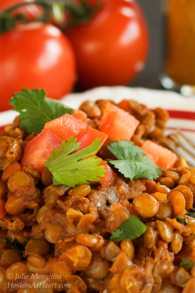 This Green Lentil Curry recipe