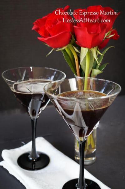 Mike's Double Espresso Chocolate Martini