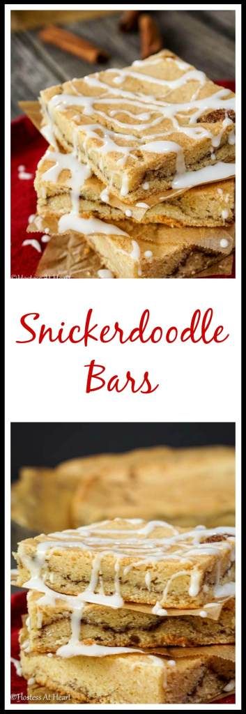 Snickerdoodle Bars | Hostess Of Heart