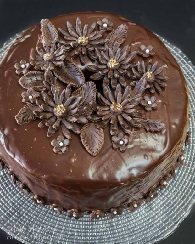 Black Russian Cake With Kahlua Filling Hostess At Heart